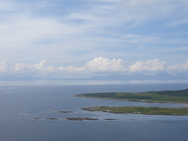 Jura from summit of Dun Skeig