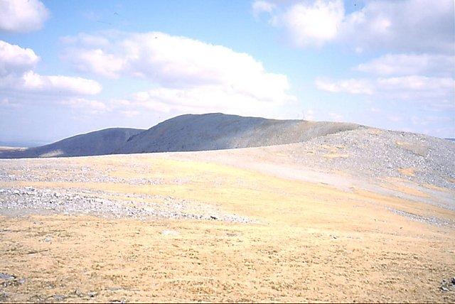 West ridge,  Càrn Dearg