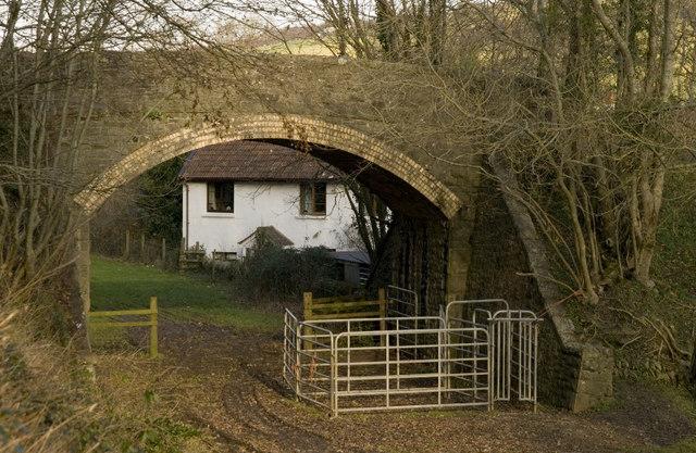 Railway Bridge, Castle Lane.