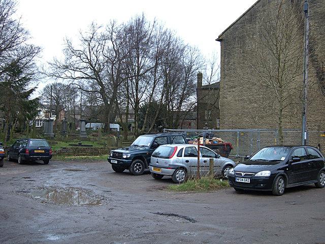 Rear of Wardle Village Church
