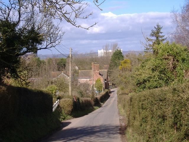Church Hill, Oldbury on Severn.