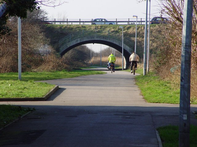 Road Bridge over the cycle track, Marfleet