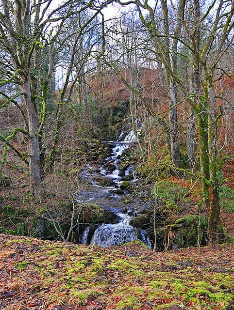 Waterfall on the Allt Tir Artair