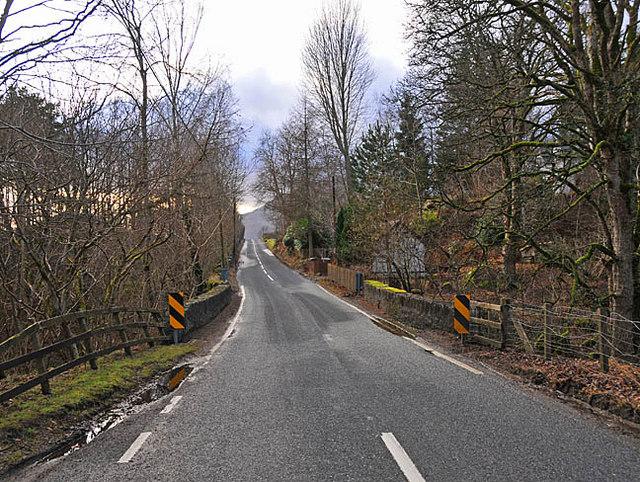 Bridge on the A827 over the Allt Tir Artair