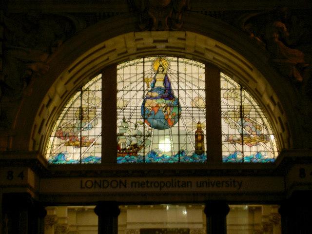 London Metropolitan University entrance