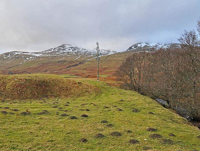 Countryside above Craggantoul