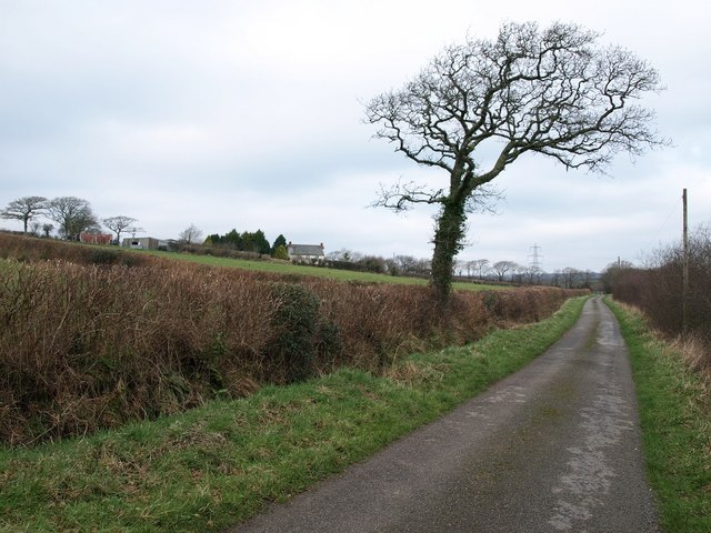 Lane to Dualstone Cross