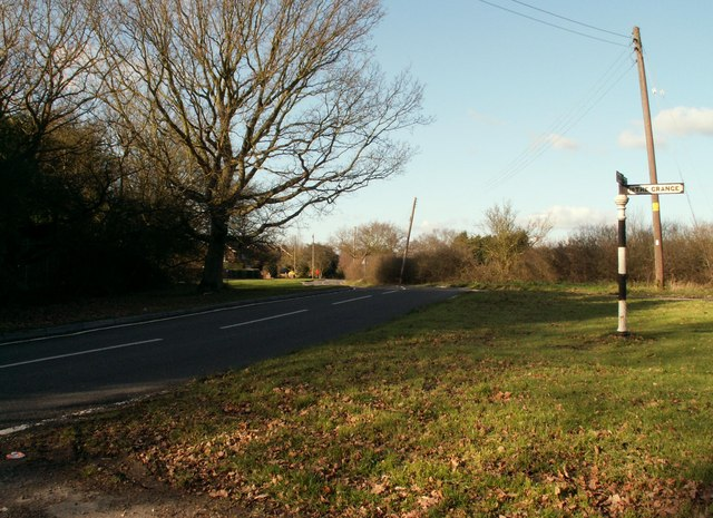 Part of Castledon Road in Downham