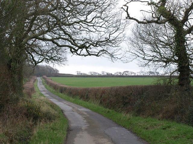 Lane from Dualstone Cross