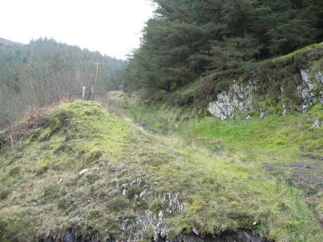 The old track to Porth-y-Nant