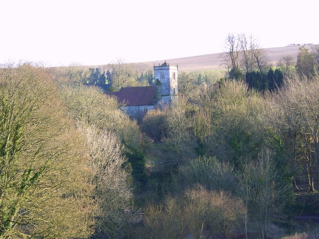 View of St John the Baptist Church, Ebbesbourne Wake
