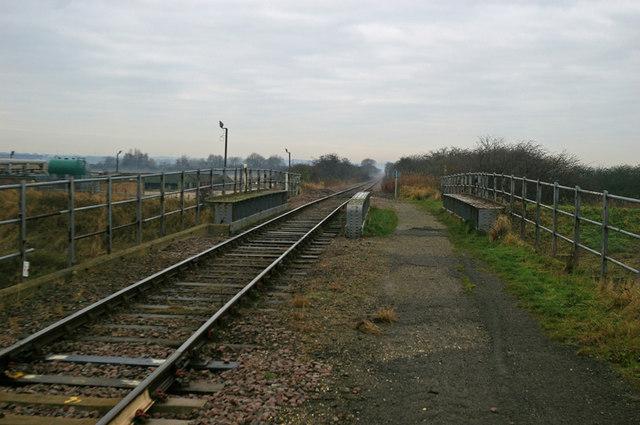 Railway Bridge at Barrow Haven