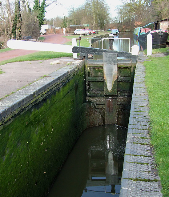 Greensforge Lock, Staffordshire and Worcestershire Canal