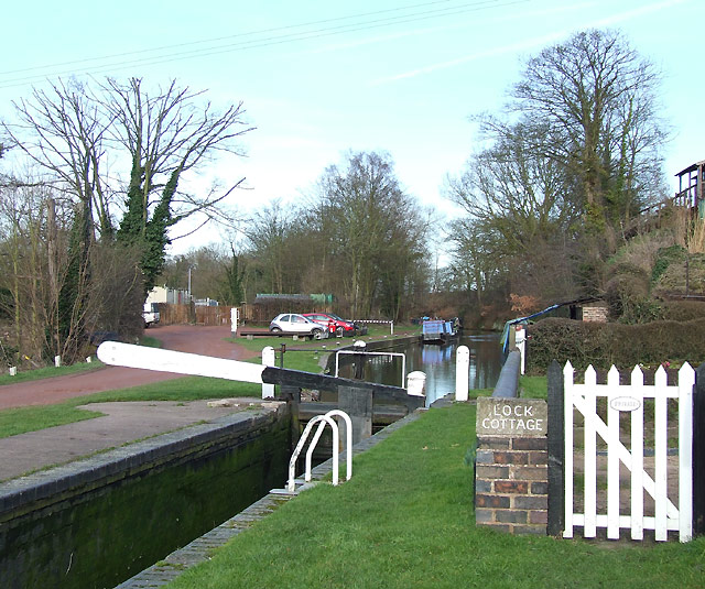 Staffordshire and Worcestershire Canal at Greensforge
