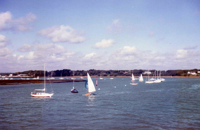 Approach to Lymington Harbour, Hampshire