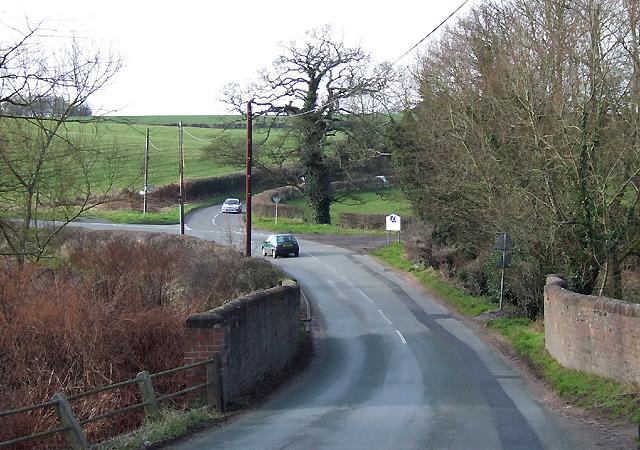 Bridge and Lane at Greensforge, Staffordshire