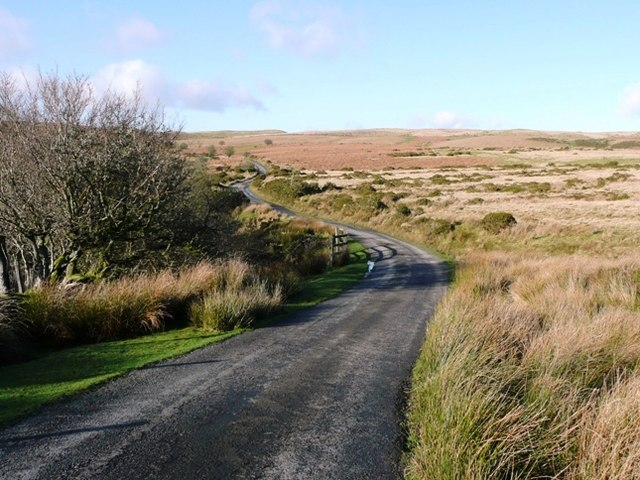 Road across the moors