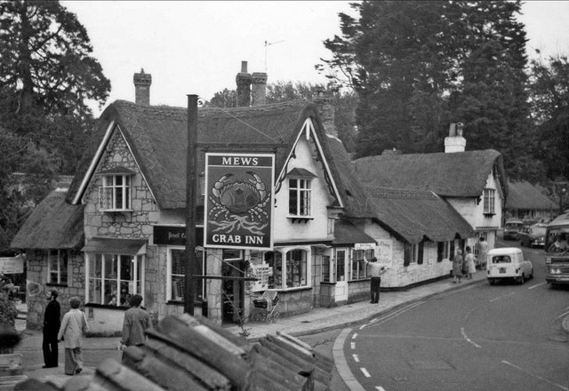 Pencil Cottage and The Old Thatch Tea Room, Shanklin, Isle of Wight