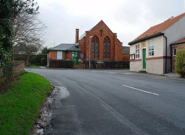 Skidby Methodist Church, and Village Hall
