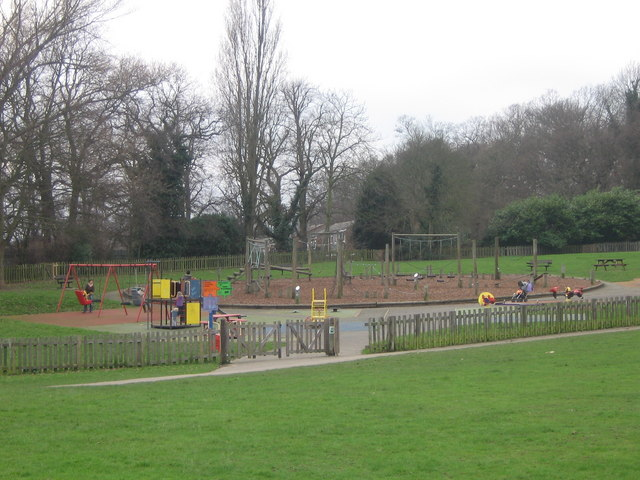 Playground in Poverest Recreation Ground