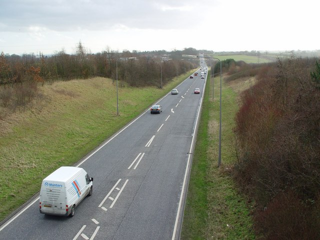 A164 looking south