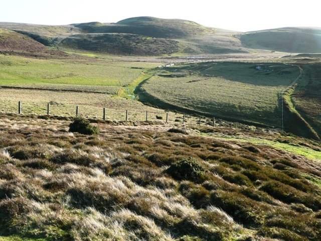 Looking south to Banc y Celyn