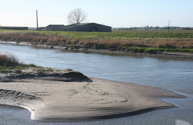 Great Ouse sandbank