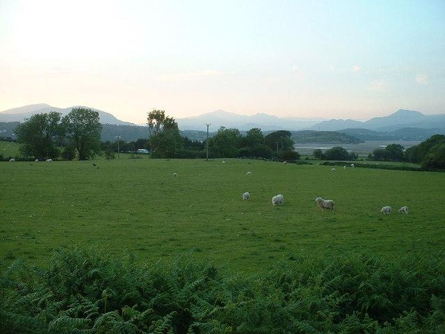 Farmland at Ynys