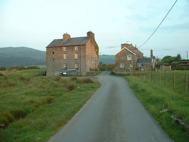 Buildings at Ynys