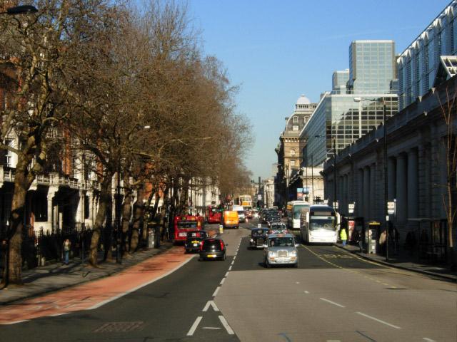 Buckingham Palace Road, Victoria