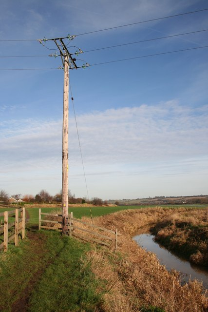Footpath by the Pump Drain