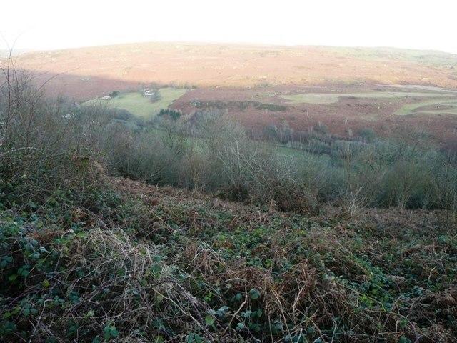 Across the Wye valley