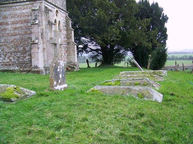 Churchyard, The Church of St Mary the Virgin, Upton Scudamore
