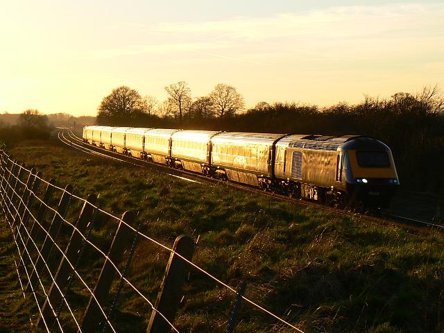 HST125 heading towards London