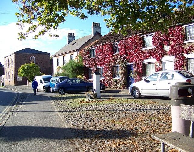 Street Scene, Sherburn