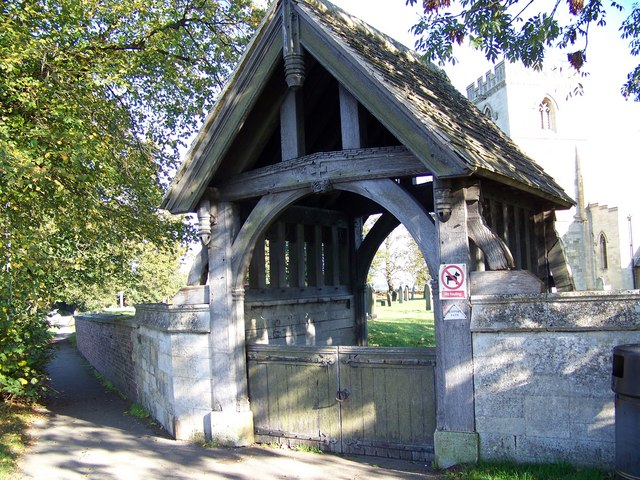 Lych Gate, St Hilda's Church, Sherburn