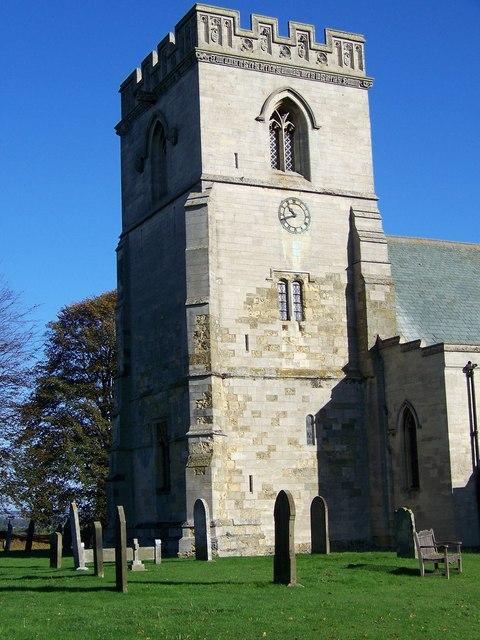 St Hilda's Church Tower, Sherburn