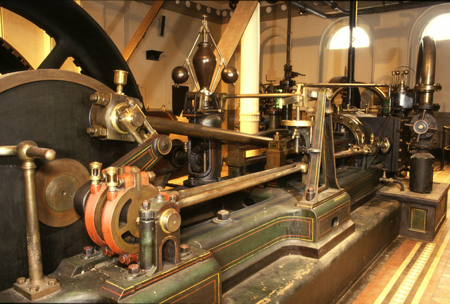 Steam engine, Greenall Whitley Brewery