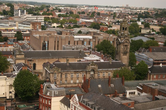 Walsall Council House & beyond