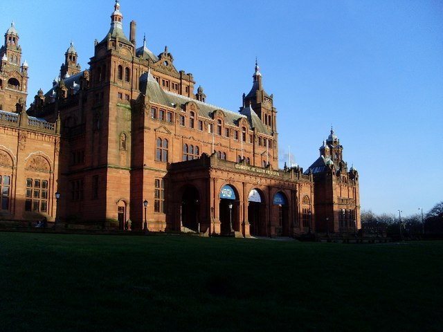 Rear entrance to Kelvingrove Museum and Art Gallery