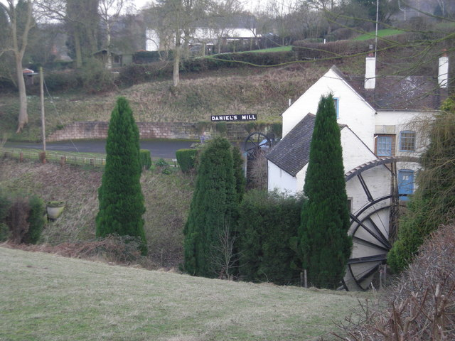Daniel's Mill from the northern path