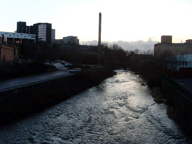 River Kelvin at Partick