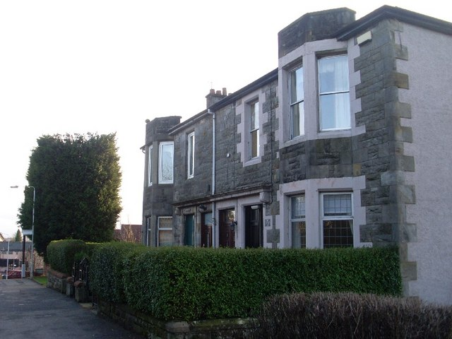 Old housing on Cochno Road