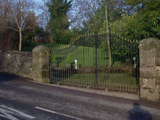 Gate to garden on Cochno Road