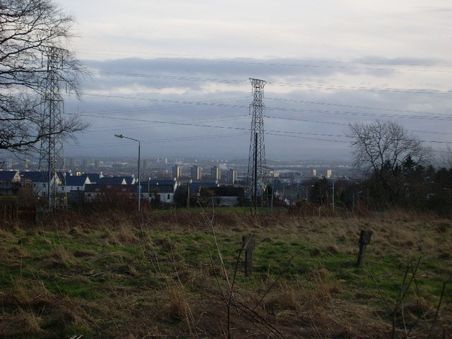Duntocher and Glasgow from Kilpatrick Hills