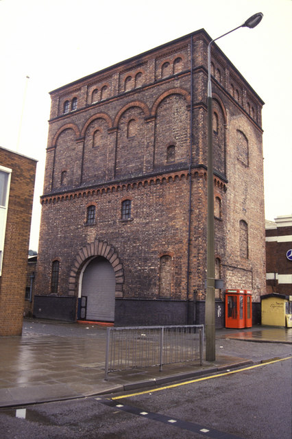 Mersey Rail Tunnel pump house