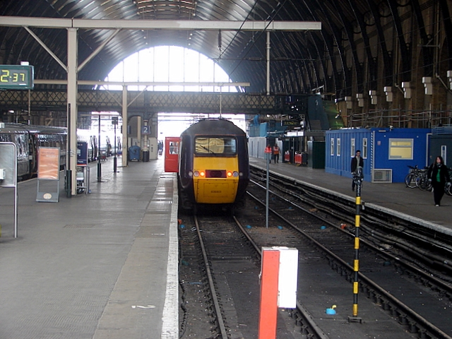 HST at King's Cross