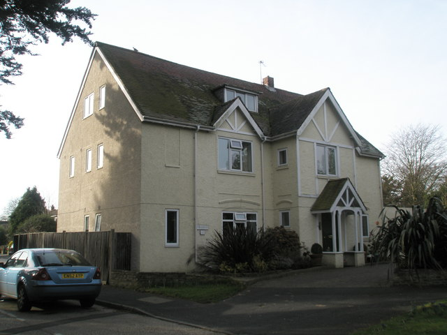 House on the corner of Netherfield Close