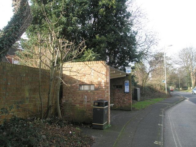 Bus Stop at Green Pond Corner