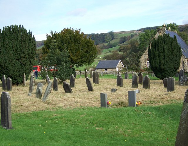 Graveyard at St Mary and St Laurence, Rosedale Abbey
